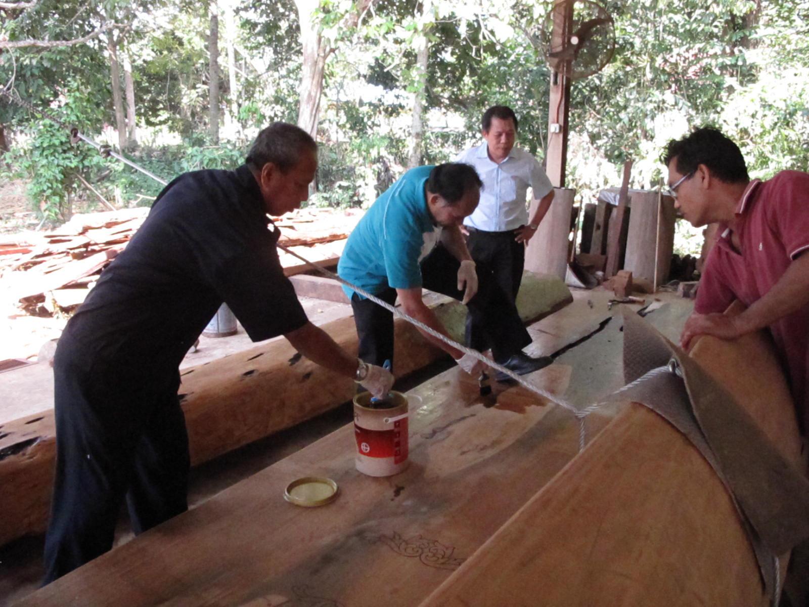 Sơn gỗ ngoài trời GORI tại Panda Conservation