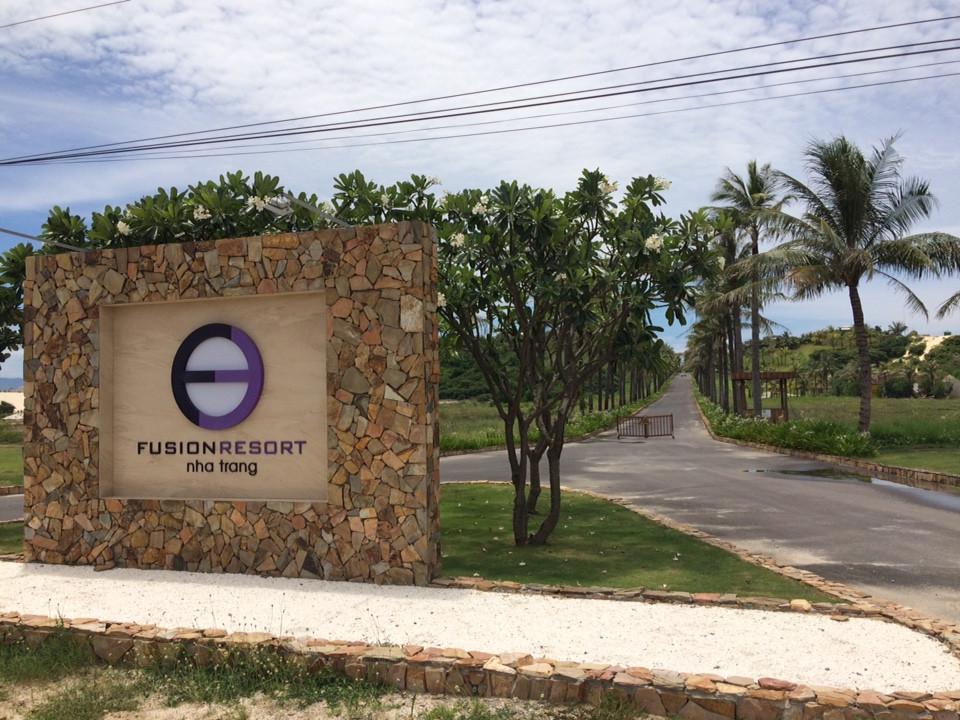 sơn gỗ ngoài trời GORI tại Fusion Resort Nha trang